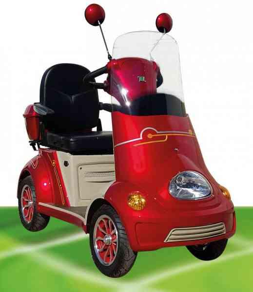 "ElektroMobil ""Fred 1"" VierRad Scooter bis 25 km/h SeniorenMobil ElektroScooter, Modell 2019"