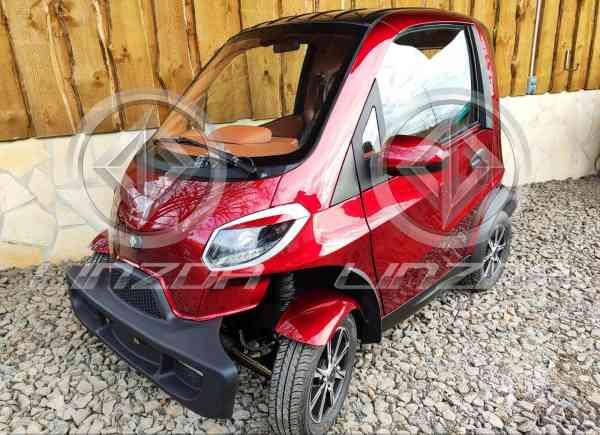 4 Kw Linzda E-Auto für 2 Personen, max. 45 Km/h, Microcar, Mopedauto