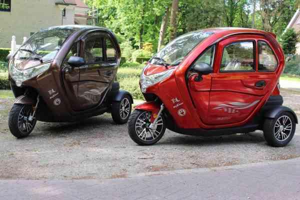 MOVE Vigorous 1500 S-Line Elektromobil KabinenRoller E-Trike Scooter max. 45 km/h/max. 25 km/h