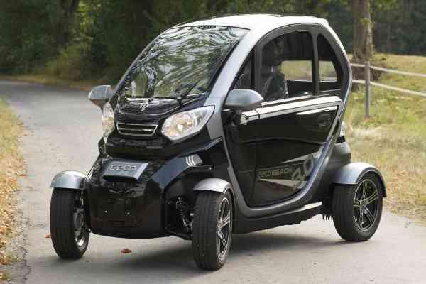 "Elektro-Auto ""E-KING"" E-Leichtkraftfahrzeug Scooter Kabinenroller max. 45 km/h"