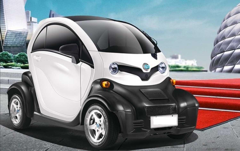 e auto e crown luxus elektro leichtkraftfahrzeug max 45 km h aj emobile elektrofahrzeuge. Black Bedroom Furniture Sets. Home Design Ideas