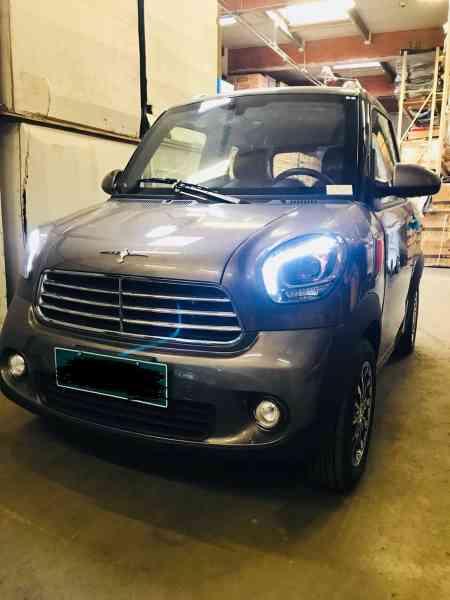 4,5 Kw Geco Nizza TS1 50km/h 4,5 Kw E-Auto für 2 Personen, Microcar, Mopedauto