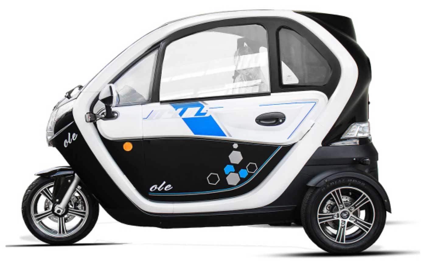 "Electric Moped Scooter >> Elektro-Auto ""E-LORD"" E-Leichtkraftfahrzeug Scooter ..."