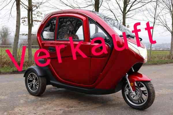 Vorführfahrzeug führerscheinfrei MOVE Vigorous 1500 S-Line Elektromobil KabinenRoller max 25 km/h