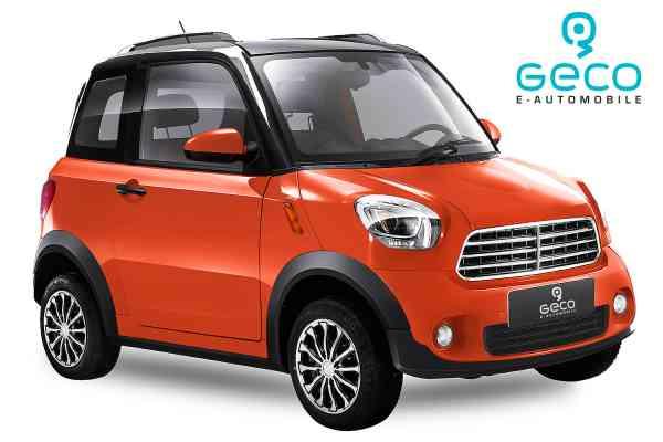 4,5 Kw Geco Nizza TS 1 50 km/h 4,5 Kw E-Auto für 2 Personen, Microcar, Mopedauto