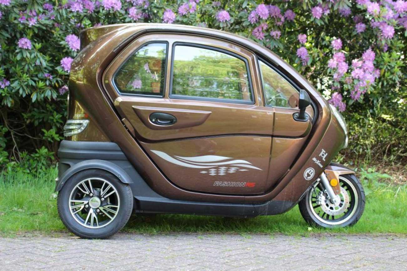 move vigorous 1500 highline elektromobil kabinenroller e trike scooter max 45 km h oder max 25. Black Bedroom Furniture Sets. Home Design Ideas