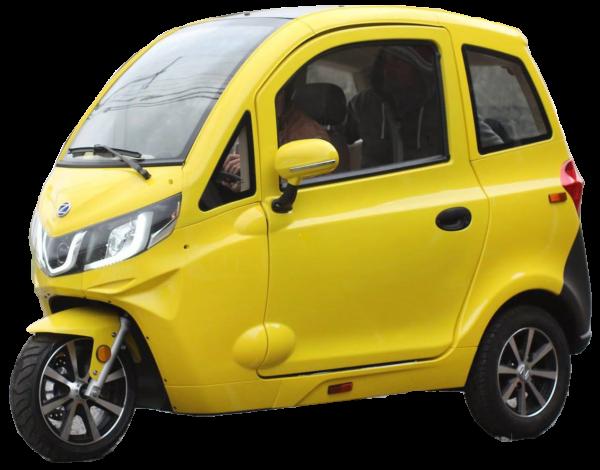 Sunliner E-50 Kabinenroller mit 45 km/h und großem Platzangebot