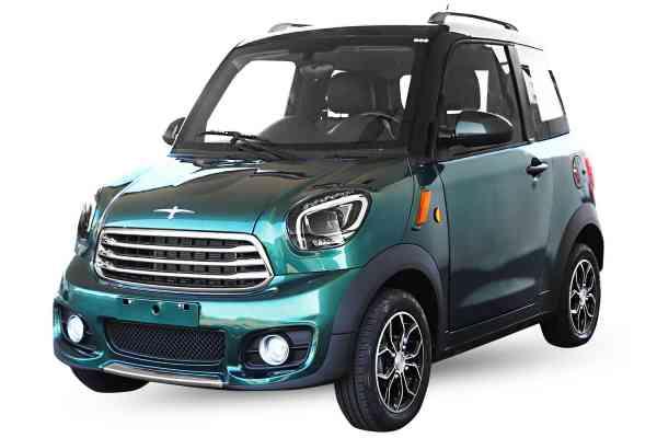 7,5 Kw Geco Nizza TS2 80km/h, E-Auto für 2 Personen, ABS + ESP, Li-Ion Batterien