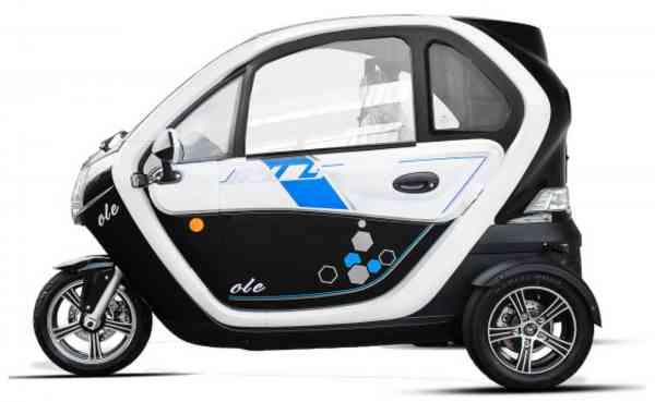 "Elektro-Auto ""E-LORD"" E-Leichtkraftfahrzeug Scooter Kabinenroller max. 45 km/h"
