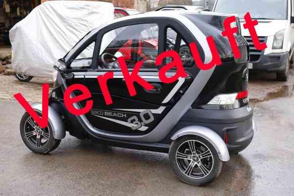 "Vorführfahrzeug E-Auto ""E-KING"" E-Leichtkraftfahrzeug Scooter Kabinenroller max. 45 km/h"